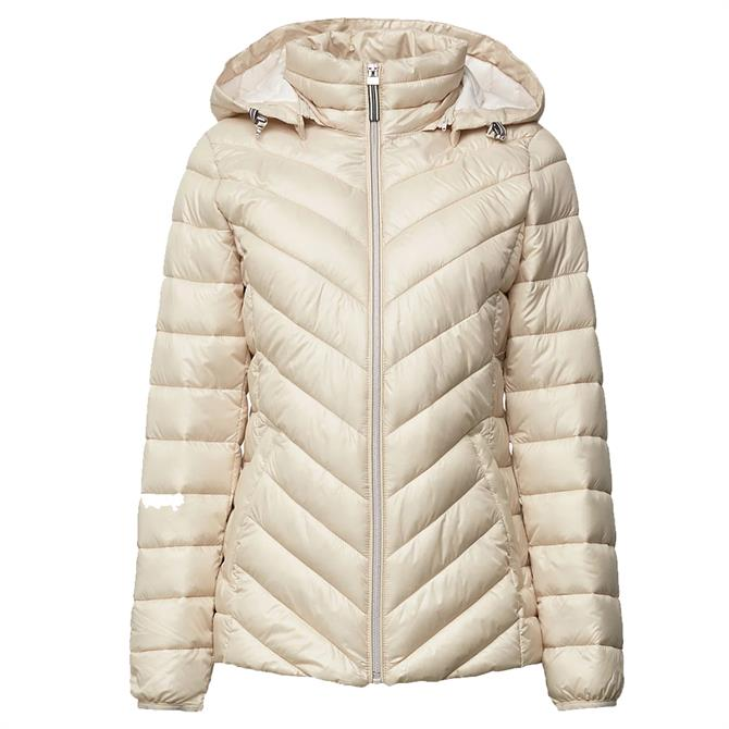 Esprit Quilted Hooded Thinsulate Jacket