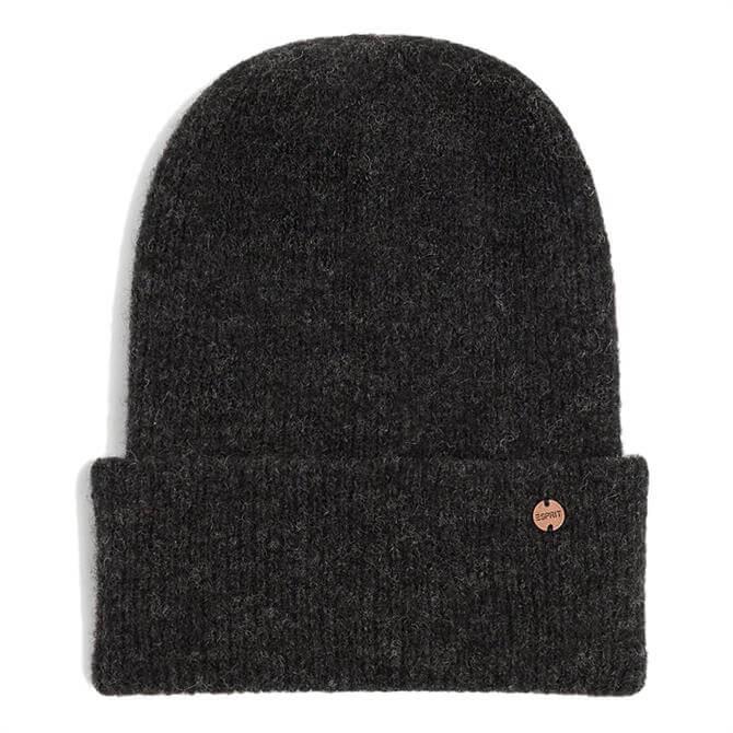 Esprit Alpaca Blend Turn-Up Hem Beanie Hat