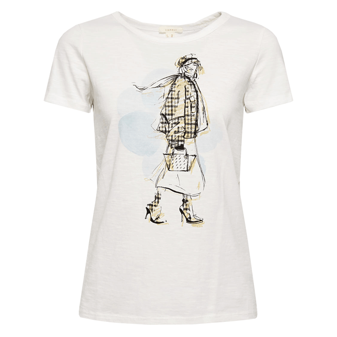 Esprit Artwork Print T-Shirt