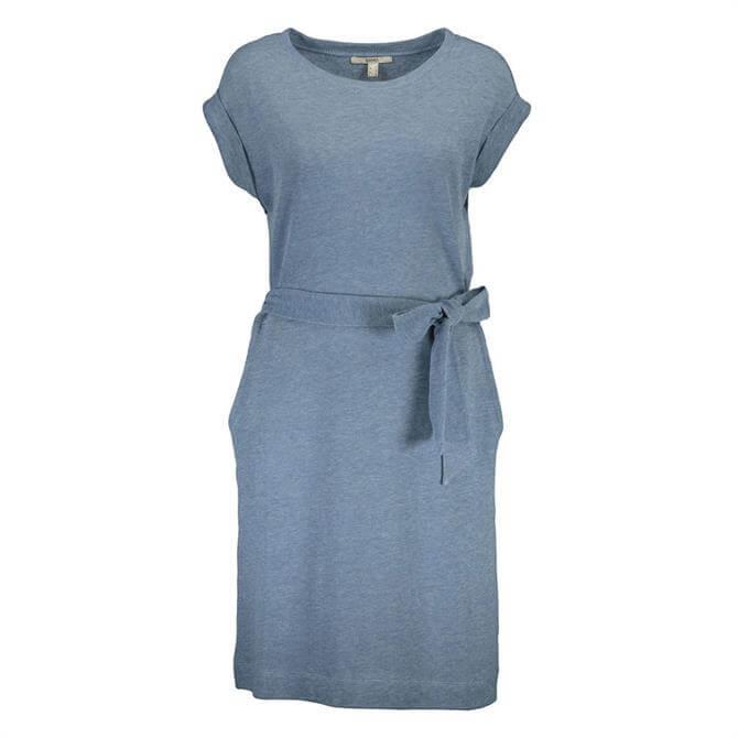 Esprit Belted T-Shirt Dress