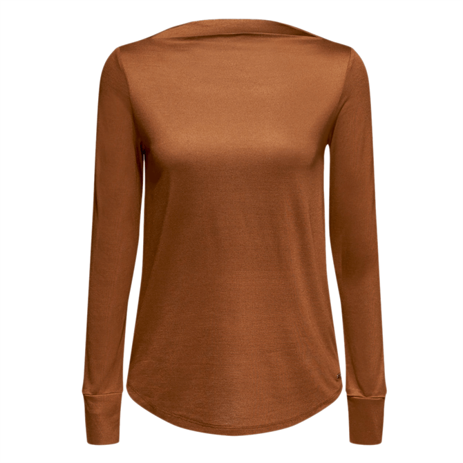 Esprit Boat Neck Long Sleeve Top