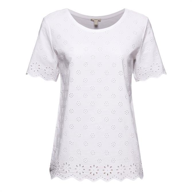 Esprit Broderie Anglaise T-Shirt