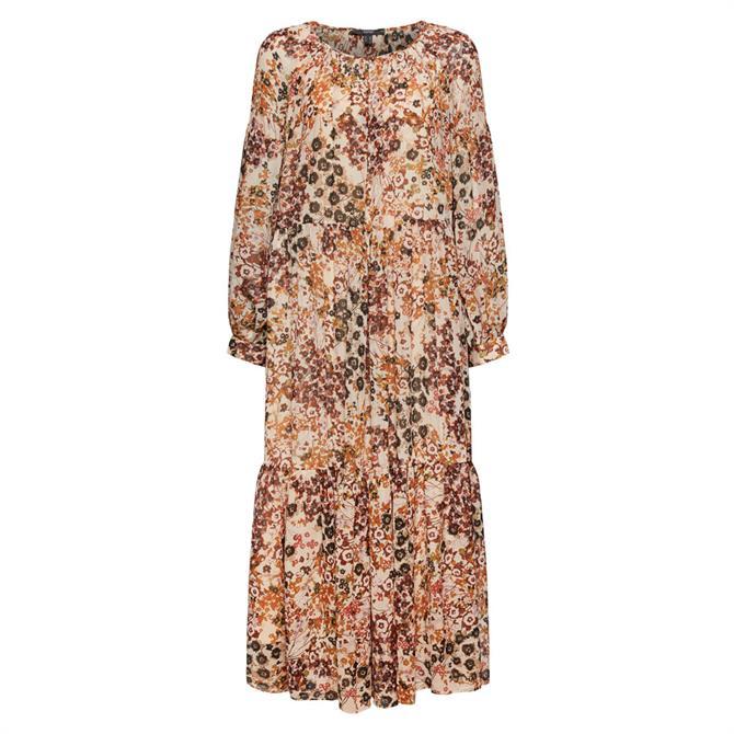 Esprit Chiffon Floral Maxi Dress