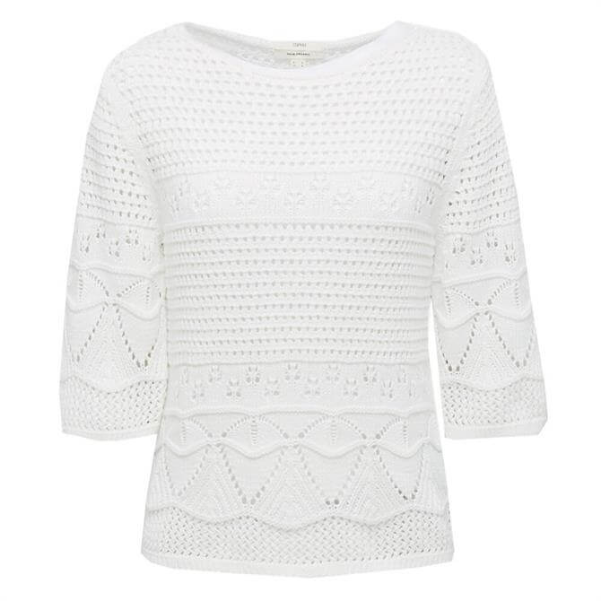 Esprit Crocheted Jumper