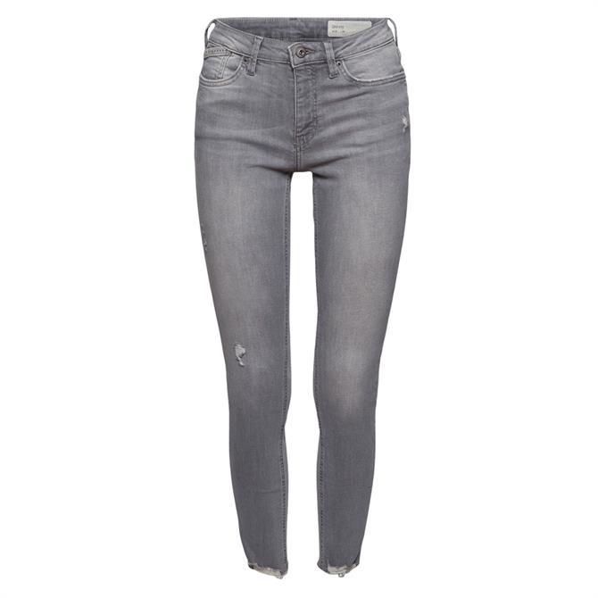Esprit Distressed Skinny Ankle Jeans