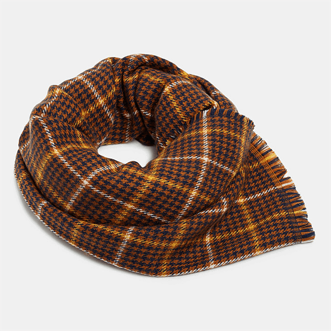 Esprit Double Check Pattern Scarf