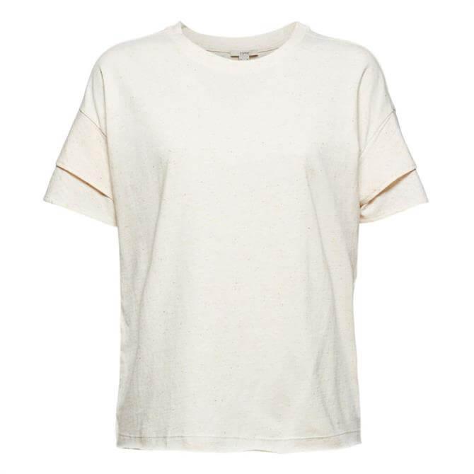 Esprit Double-Layer Sleeve T-Shirt