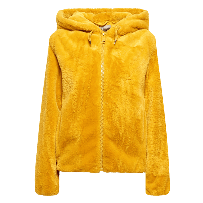 Esprit Faux Fur Hooded Jacket