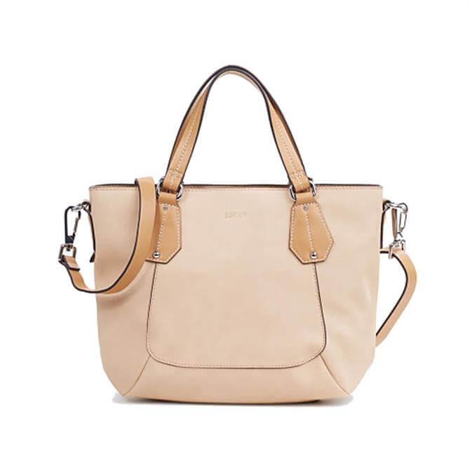 Esprit Faux Leather City Shoulder Bag
