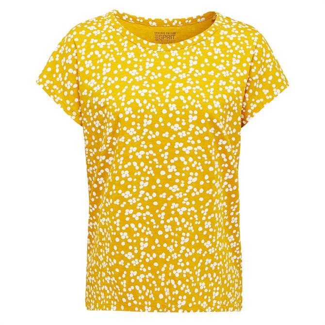 Esprit Filigree Spot Print T-Shirt