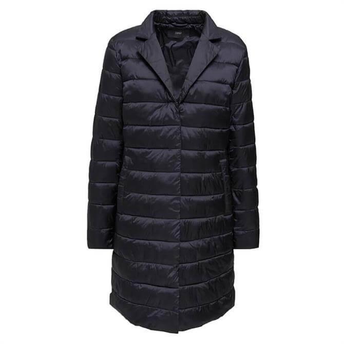 Esprit Quilted Midi Coat