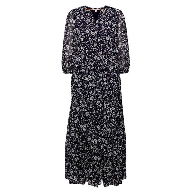 Esprit Floral Chiffon Maxi Dress