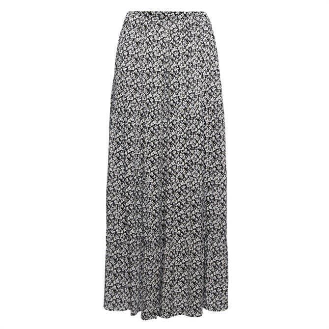 Esprit Dainty Floral Flounce Midi Skirt