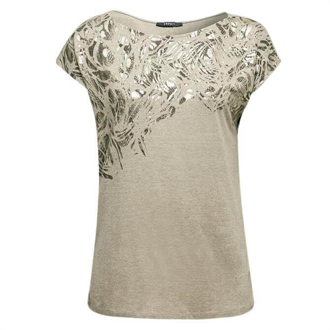 Esprit Foil Print T-Shirt