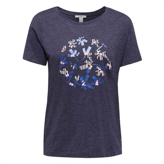 Esprit Graphic Flower Print T-Shirt