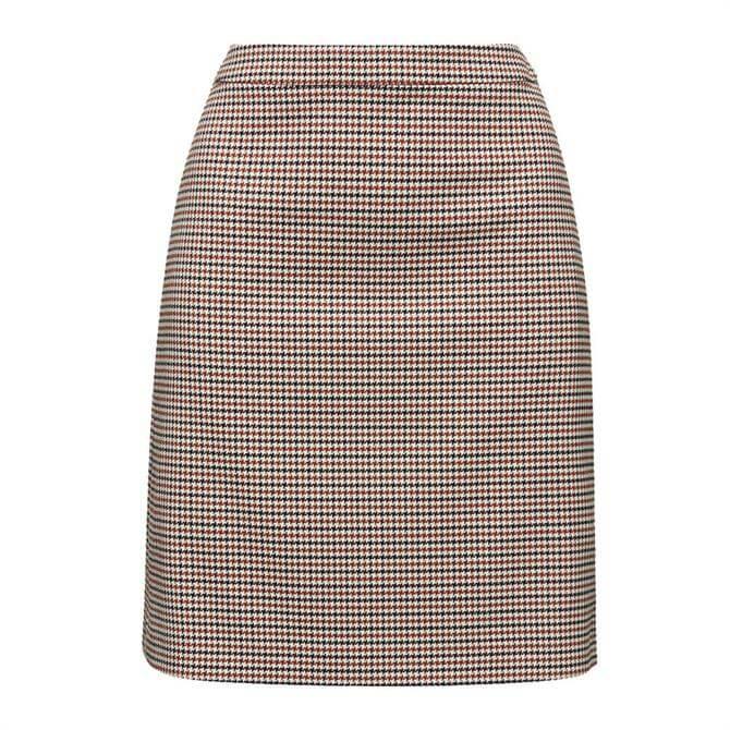 Esprit Mini Houndstooth Skirt