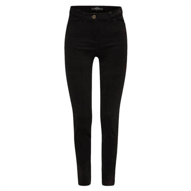 Esprit Corduroy Slim Fit Trousers