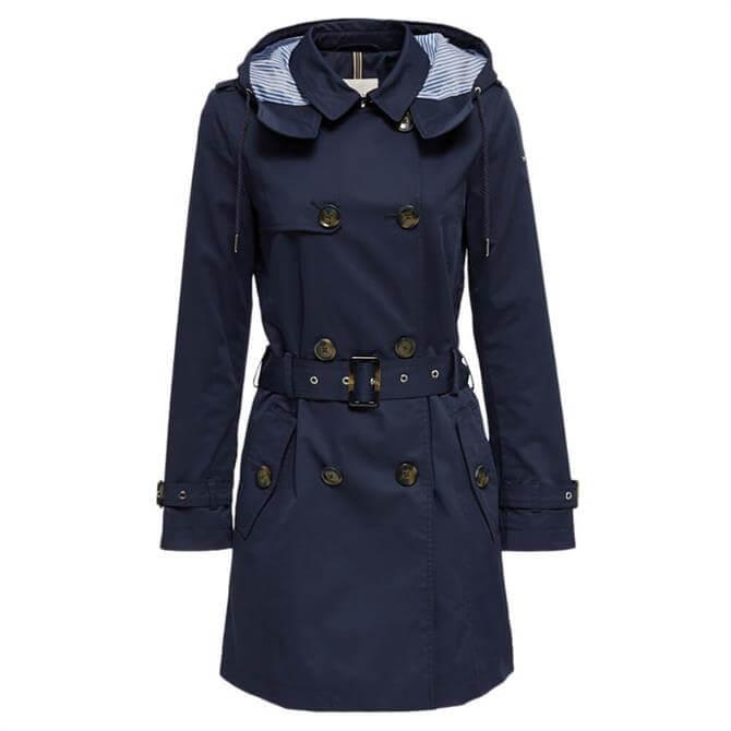 Esprit Hooded Trench Coat