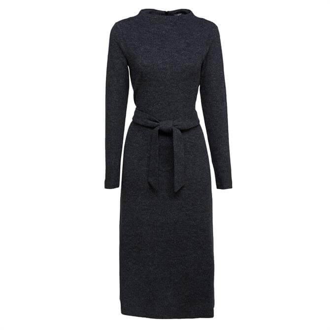 Esprit Belted Knit Dress