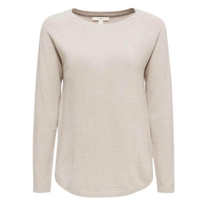 Esprit Lightweight Linen Blend Sweater
