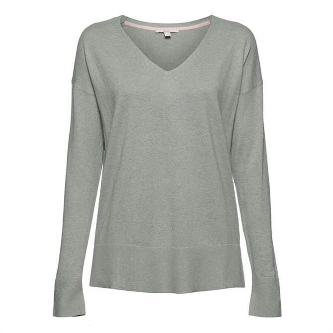 Esprit Cotton Linen Premium Yarn Sweater