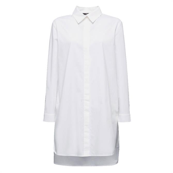 Esprit Long Length Poplin Shirt