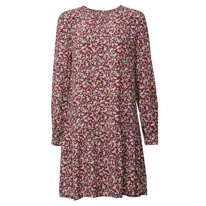 Esprit Mille Fleurs Flounce Dress