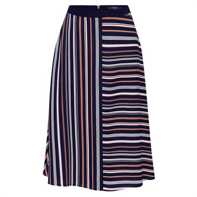 Esprit Mixed Striped Skirt