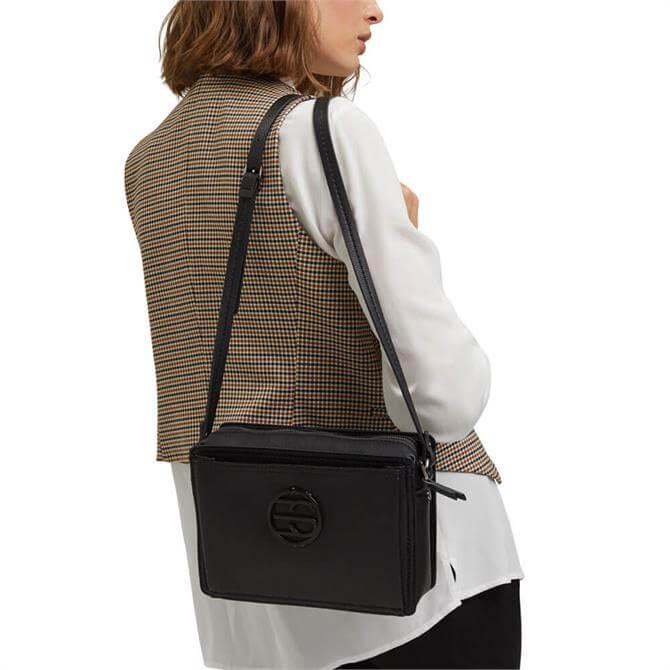 Esprit Monogram Faux Leather Shoulder Bag