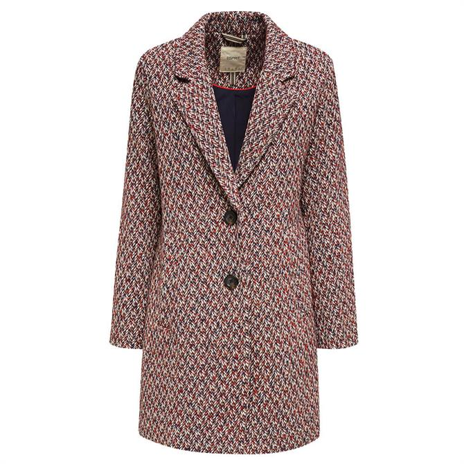 Esprit Multi Yarn Textured Coat