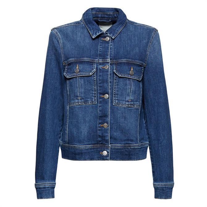 Esprit Organic Cotton Denim Jacket