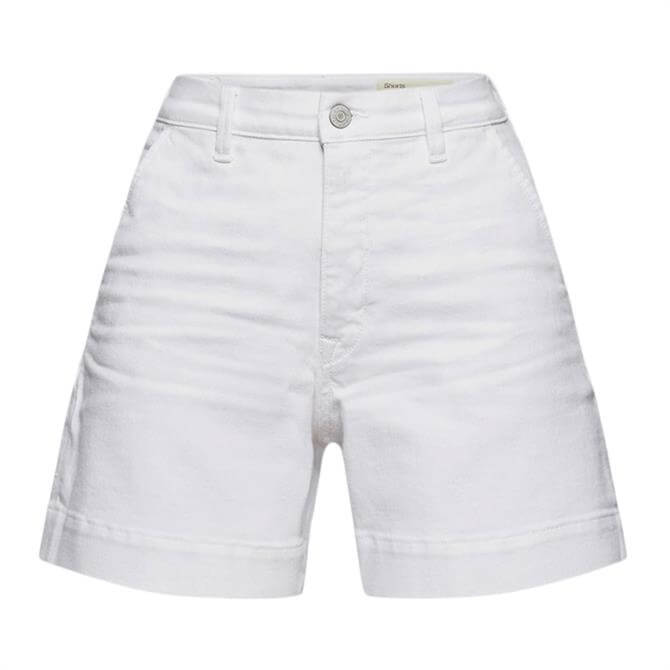 Esprit Organic Cotton Denim Stretch Shorts