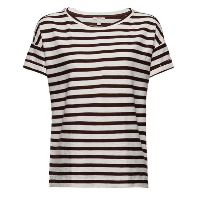 Esprit Organic Cotton Striped T-Shirt