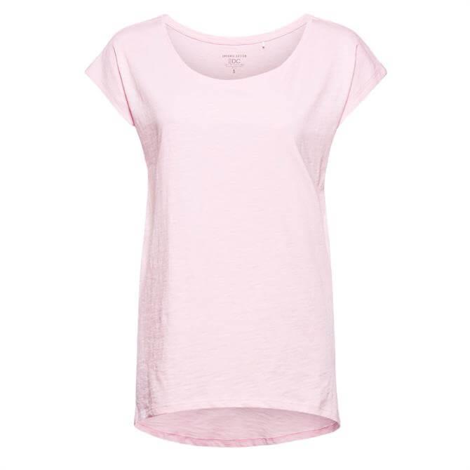Esprit 100% Organic Cotton Short Sleeve T-Shirt