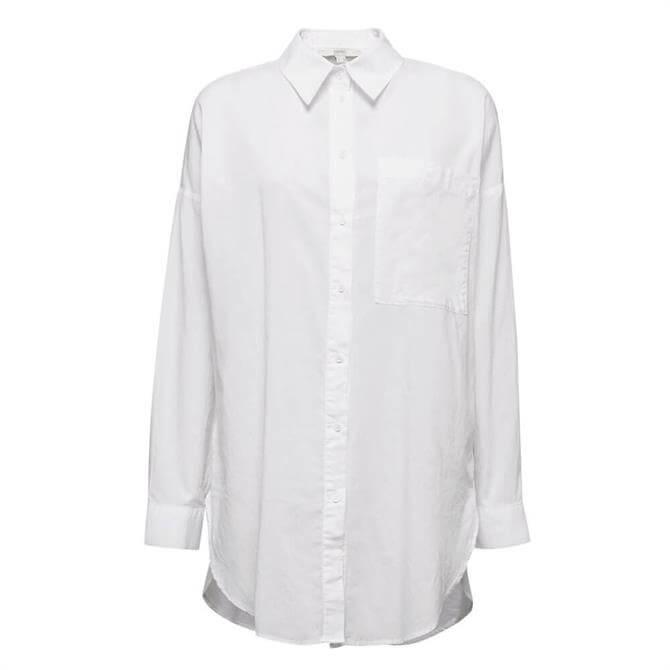 Esprit Oversized Cotton Shirt