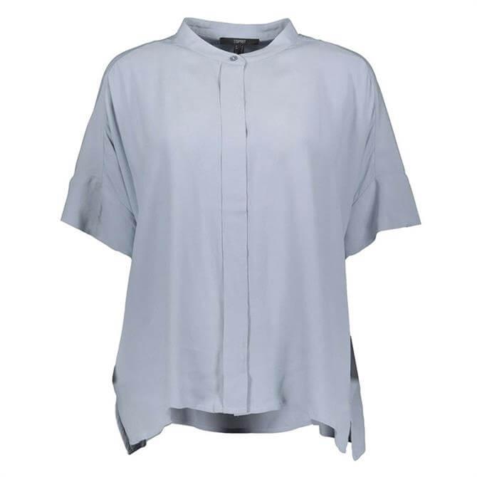 Esprit Oversized Short Sleeved Blouse