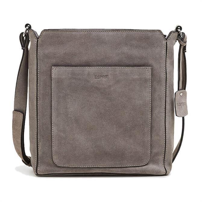 Esprit Patch Pocket Leather Bag