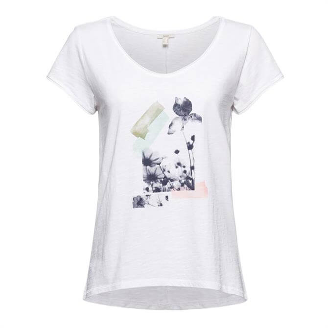 Esprit Photo Print Cotton T-Shirt