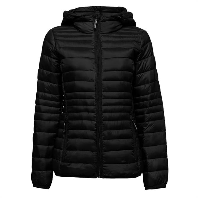 Esprit Quilted Fitted Short Jacket