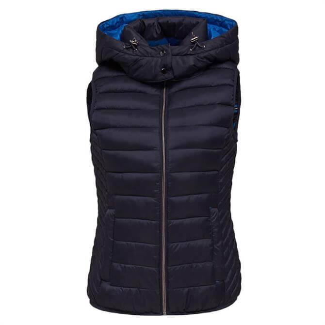 Esprit Quilted Hooded Body Warmer