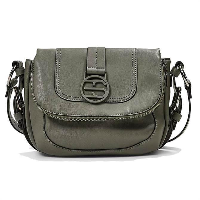 Esprit Vegan Saddle Style Shoulder Bag