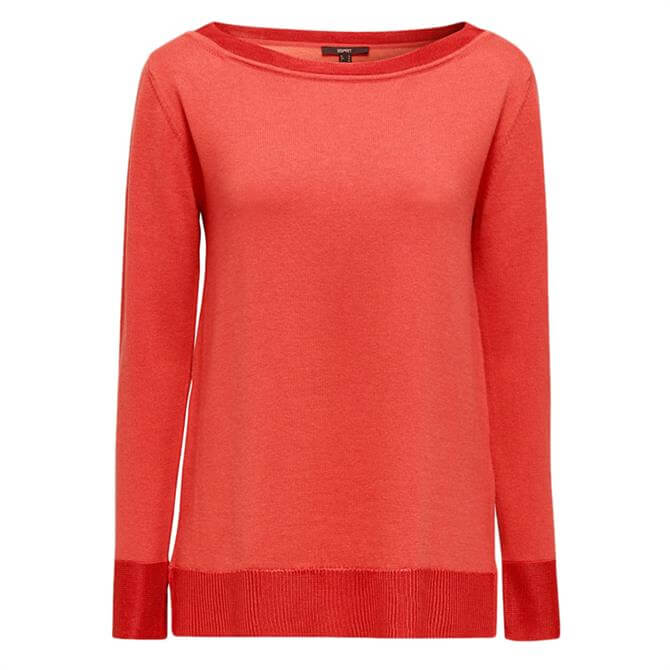 Esprit Silk Detail Knitted Sweater