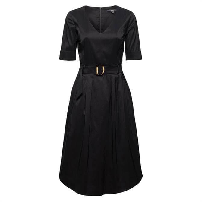 Esprit Silky Cotton Belted Dress