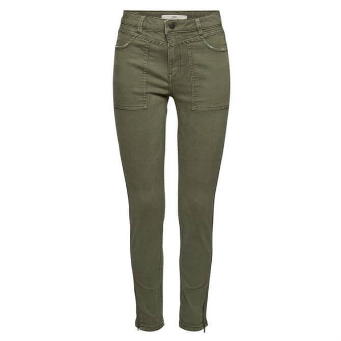 Esprit Skinny Stretch Zipped Trousers
