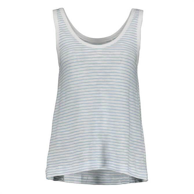 Esprit Sleeveless Striped Top