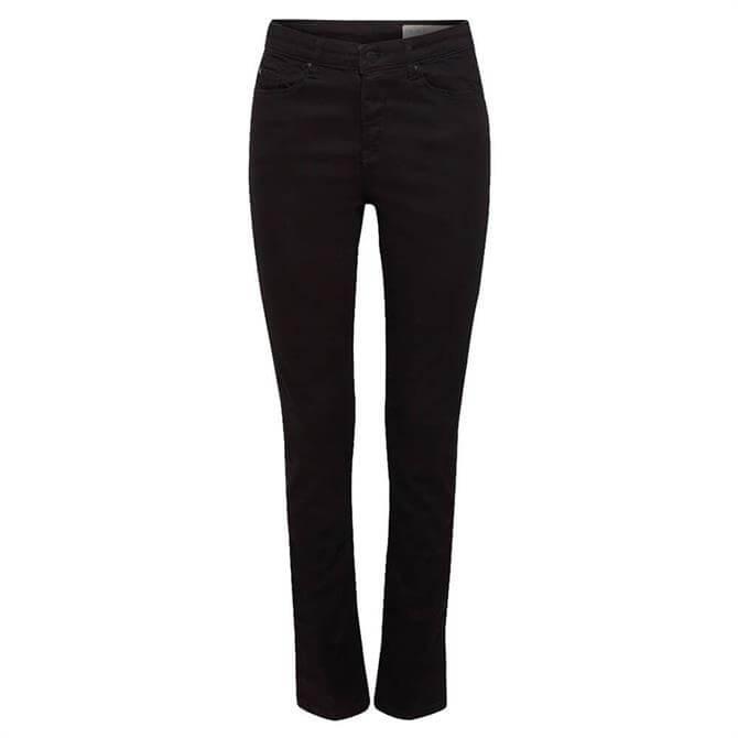 Esprit Organic Cotton Slim High Rise Jeans
