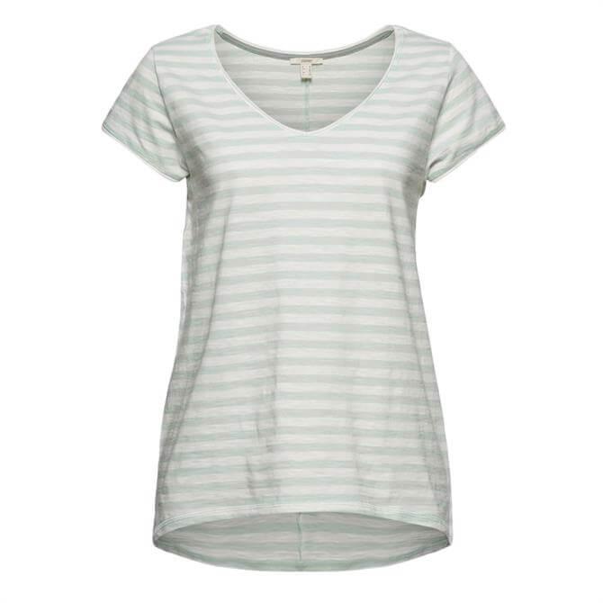 Esprit Slub Jersey Striped T-Shirt