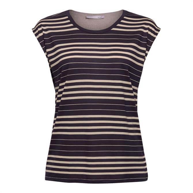 Esprit Striped Lyocell T-Shirt