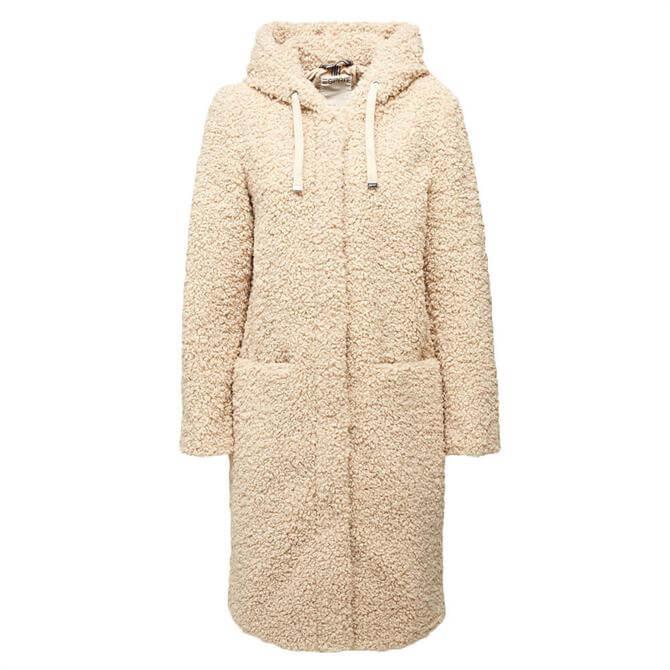 Esprit Teddy Hooded Coat