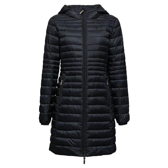 Esprit Thinsulate Quilted Hooded Coat